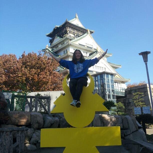 Osaka Castle, Japan. About Me.