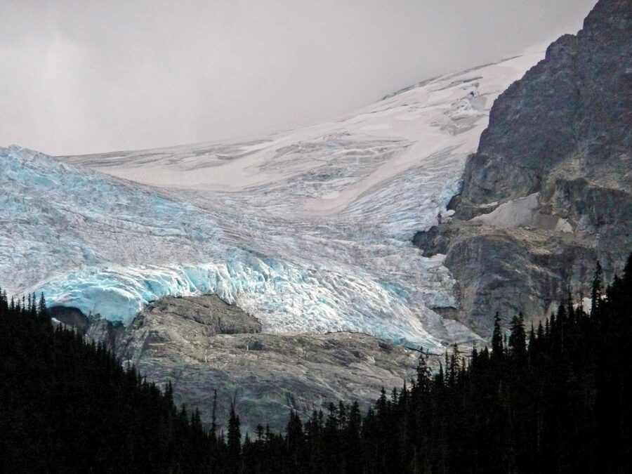 The vast Matier Glacier by Upper Joffre Lakes, Whistler