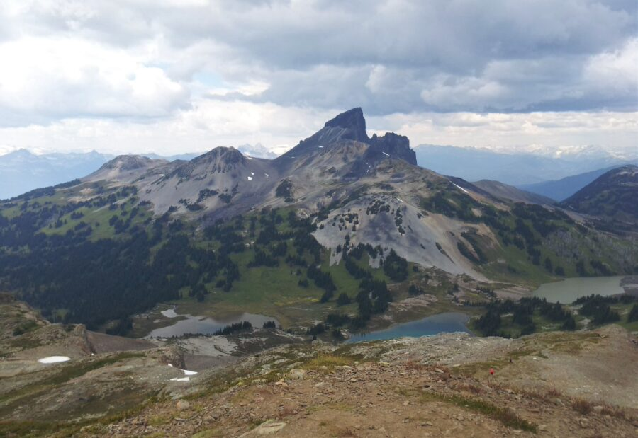 View of one of the best Whistler hikes - Black Tusk