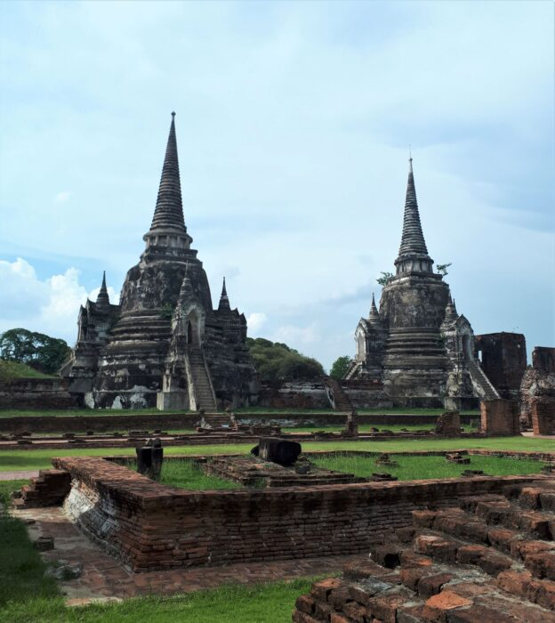Beautiful Structures at Ayutthaya - A Day Trip from Bangkok, Thailand, and Perfect for your Itinerary for Southeast Asia