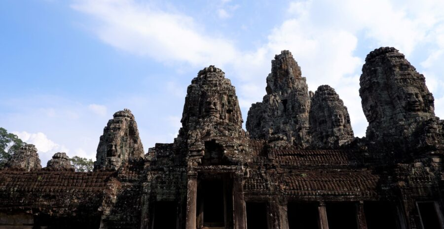 Itinerary for Southeast Asia - Bayon Temple Near Siem Reap, Cambodia