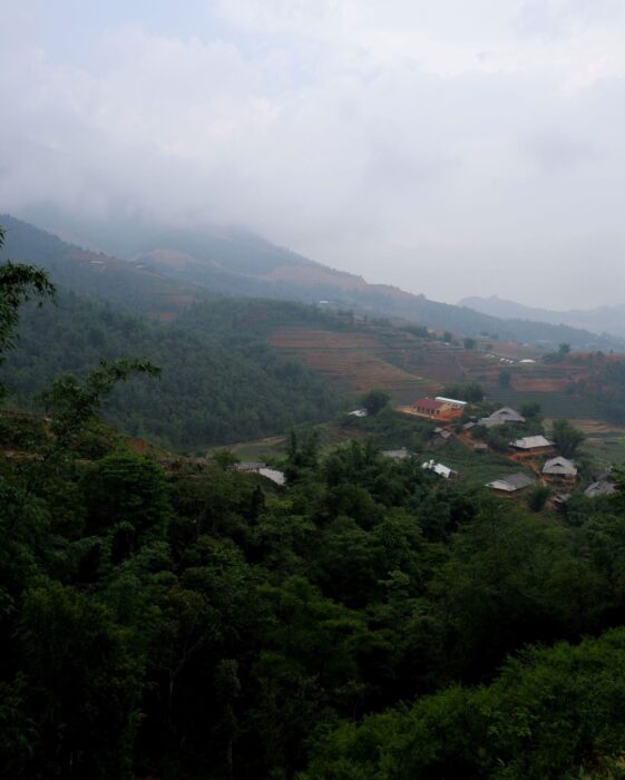 Beautiful Scenery of a Village in the Hills of Sapa, Vietnam - Perfect for your Itinerary for Southeast Asia.