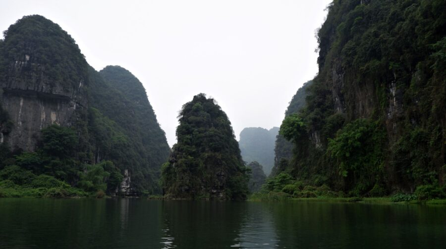The Mountains and Water of Trang An, Ninh Binh - A Day Trip from Hanoi, Vietnam