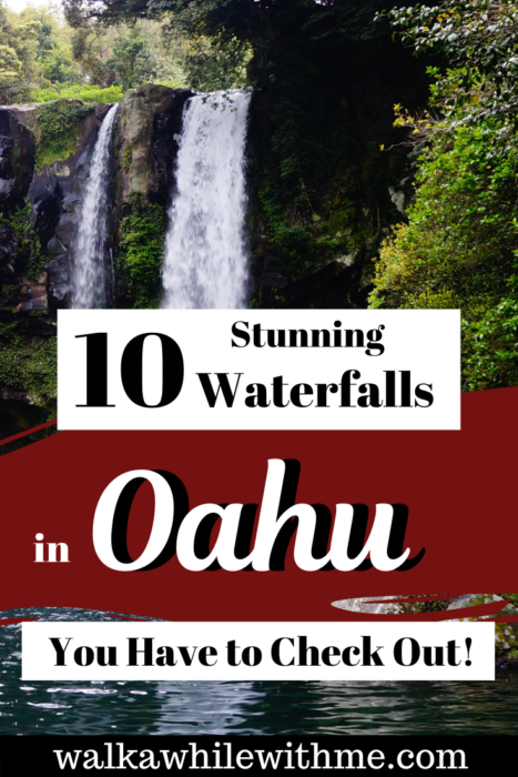 10 Stunning Waterfalls in Oahu You Have to Check Out!