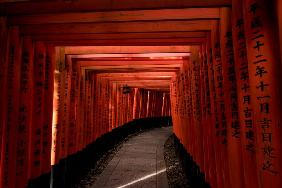 The vivid red arches of Fushimi Inari - An absolute must for your 2 day Kyoto itinerary