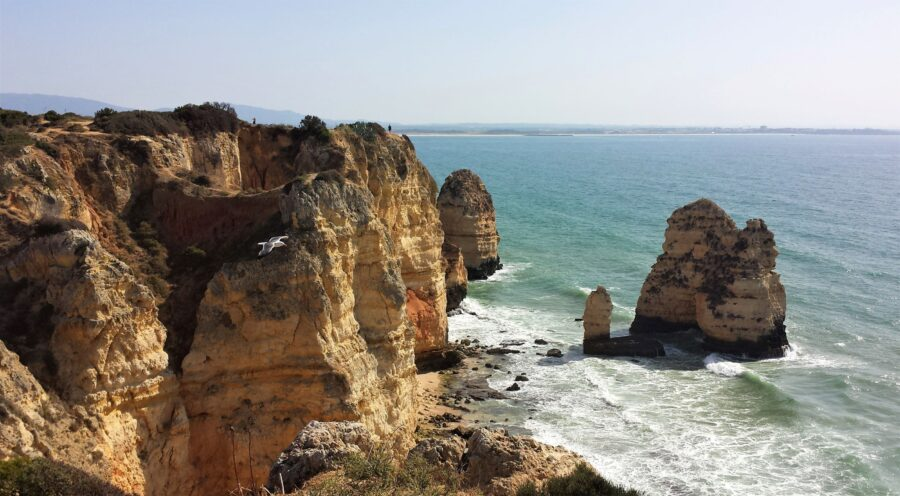 The Stunning Scenery at Ponta da Piedade, one of the best things to do in Algarve